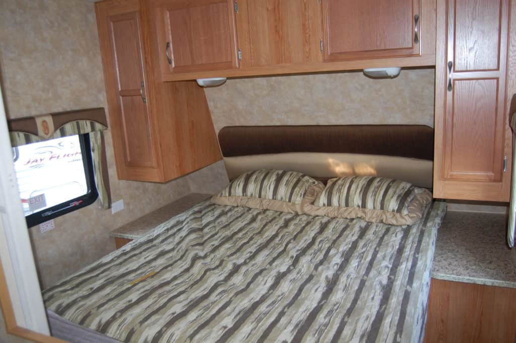 Jayco 27BH (Cloth Interior) - RV Trailer View