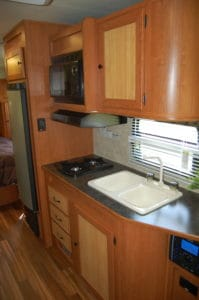 Gulfstream Vista Cruiser - RV Trailer View